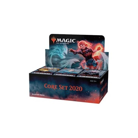 Core 2020 Booster Display