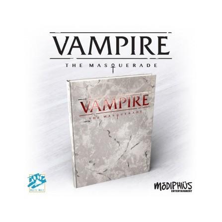 The Masquerade 5th Edition Deluxe Edition Core Rulebook
