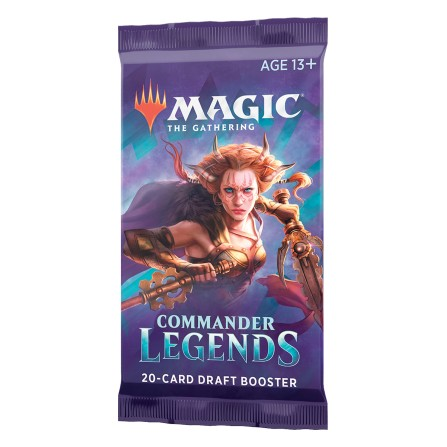 Commander Legends Draft Booster