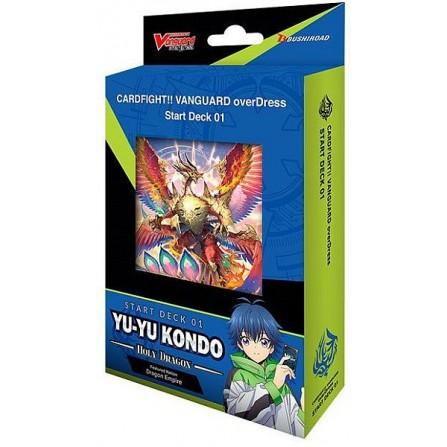 Cardfight!! Vanguard overDress - Starter Deck 1: Yu-yu Kondo - Holy Dragon
