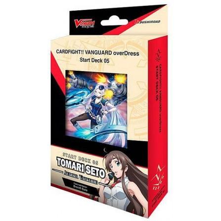 Cardfight!! Vanguard overDress - Starter Deck Display 5: Tomari Seto - Aurora Valkyrie