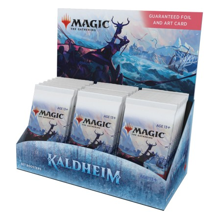 Kaldheim Draft Booster Display Pre-Order